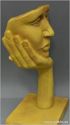 Sculpture by Yokin.