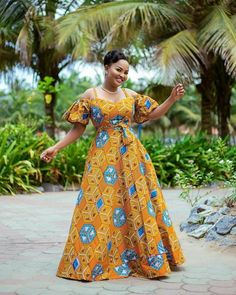 This African print long dress maxi dress Ankara maxi dress is just one of the custom, handmade pieces you'll find in our dresses shops.