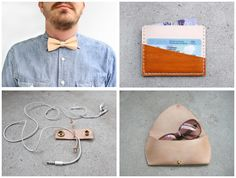 I'm scouting some of the best ideas in Canada - and you better believe that means FROM Canadians. Meet Fitzy, a very cool leather shop from Toronto that specializes in handcrafted pi. Canadian Gifts, Gift Guide, Meant To Be, Sunglasses Case, Coin Purse, Scouting, Cool Stuff, Toronto, Leather