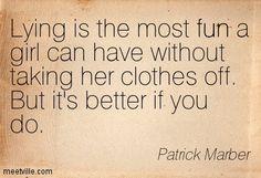 Patrick Marber...