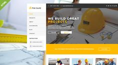 Flatbuild - HTML Construction Business Template (Business) Download   #architecture #building #business #company #construction #corporate #Electricy #engineering #industry #interior #isolation #maintenance #painting #projecting #renovation http://w7download.com/flatbuild-html-construction-business-template-business-download