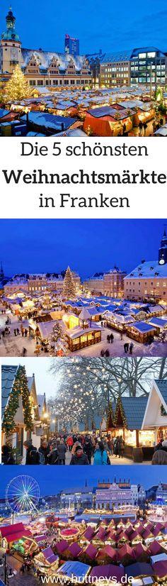 Zur Adventszeit gehört ein Besuch auf dem Weihnachtsmarkt einfach dazu. Insbesondere die Christkindl-Märkte in Franken lassen die Weihnachtsstimmung höher schlagen.