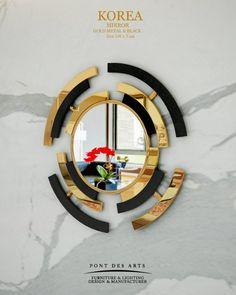 Korea Mirror - Pont des Arts Studio - Designer Monzer Hammoud - Paris -