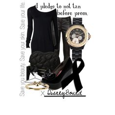 """I pledge to not tan before prom."" by lalakay on Polyvore"