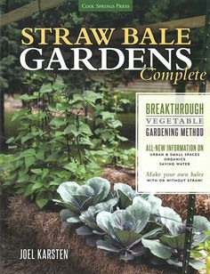 The breakthrough method for growing vegetables anywhere, earlier and with no weeding! By Joel Karsten. I love this book! It gives anyone who wants to garden the opportunity to do so; regardless of tox