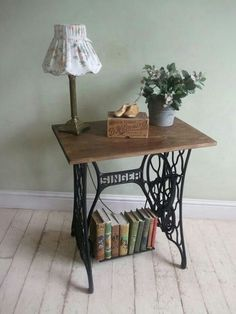 Ways to repurpose our Heirloom sewing machines.   http://www.architectureartdesigns.com/20-vintage-repurposed-sewing-machines/