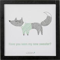 Affiche Avez-vous vu mon nouveau tee-shirt? - Bloomingville