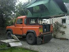 Land rover defender pick up roof tent mounting frame/ rear cage | eBay  http://www.ebay.co.uk/itm/Land-rover-defender-pick-up-roof-tent-mounting-frame-rear-cage-/281103582719?nma=true&si=6ZKUlVO2Ck%252FUzCZi7TqwMV4K6zQ%253D&orig_cvip=true&rt=nc&_trksid=p2047675.l2557