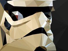 Stormtrooper on Behance