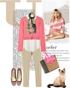 """""""Cardigan by CHLOE"""" by fashionmonkey1 ❤ liked on Polyvore"""