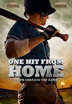"""""""One Hit From Home""""- Christian Movie/Film on DVD. Check out Christian Film Database for more info -  http://www.christianfilmdatabase.com/review/one-hit-from-home/"""