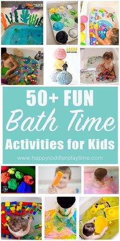 The BEST parenting weapon: fun bath activities! Check out this list of fun and easy bath time activities for kids and make bath time awesome again! Indoor Activities For Toddlers, Time Activities, Sensory Activities, Science For Kids, Learning Activities, Summer Activities, Outdoor Activities, Sensory Play, Toddler Preschool