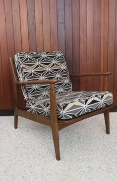 Mid Century Modern Baumritter Armchair with New by athomemodern, $645.00