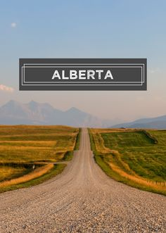 Find out all about our home province of Alberta!