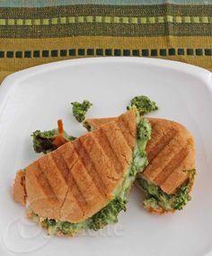 Kale Artichoke Pumpkin Seed Pesto Recipe - Jeanette's Healthy Living artichok pumpkin, pumpkin seed, kale artichok, grilled cheese sandwiches, jeanett healthi, chees sandwich, seed pesto, grilled cheeses, grill chees
