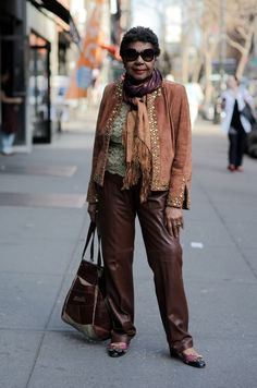 ADVANCED STYLE: Outside Off Broadway Boutique