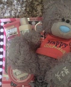 Soap and Glory Gift Set, 3 Items, PLUS From Me To You Birthday Bear  | eBay
