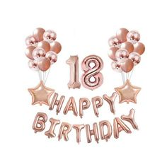 Happy Birthday 18th, 21 Birthday, Birthday Design, My Birthday Pictures, Personalized Cards, Number Balloons, Design Quotes, Birthdays, Party Ideas