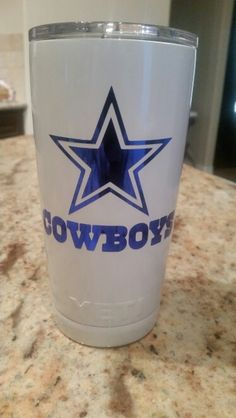 30oz Dallas Cowboys Design Lonestar Concepts Amp Design