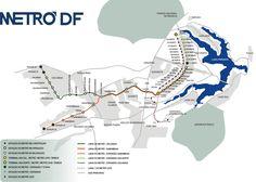 Brasília tem seu próprio sistema de metrô como quase qualquer grande capital, que cobra a maior parte da área metropolitana e une a cidade com vários pontos do Distrito Federal. #brasilia #metro