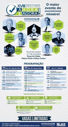 Congresso Federaminas!!! Participe e nos ajude a divulgar!!!