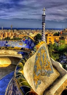 Gaudí, Barcelona -- Curated by: Ecora Engineering & Resource Group | 579 Lawrence Avenue Kelowna BC v1y 6l8 | 250-469-9757