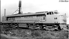 The Union Pacific's Gas Turbine Locomotive Fleet, GTELs