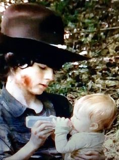 The Walking Dead, Season 5, Carl & Judith.
