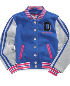 Dollhouse Kids Jacket, Girls or Little Girls Varsity Jacket - Kids Girls 7-16 - Macy's