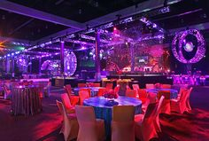 Studio 54 inspired the look and feel of the Recording Academy's Grammy after-party at the Los Angeles Convention Center.