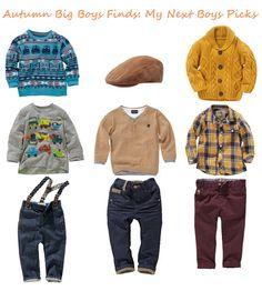 Toddler+Boy+Fashion+Clothes | Autumn Big Boys (3mths - 6yrs) Fashion: My Next Picks