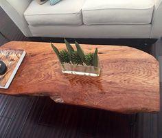 golden oak coffee table