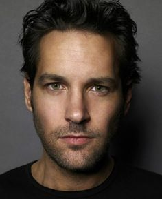 Paul Rudd - he looks so handsome in this pic and his sense of humor makes him even more attractive.