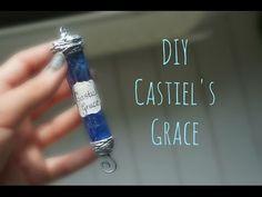 DIY Castiel's Grace (from Supernatural) - YouTube