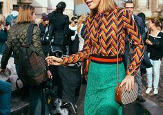 Gucci skirt and bag