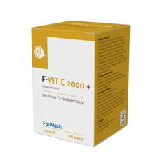 F-VIT C 2000 + Witamina C lewoskrętna Formeds Witamina C pomaga w prawidłowym funkcjonowaniu układu odpornościowego oraz w ochronie komórek przed stresem oksydacyjnym. Przyczynia się również do utrzymania prawidłowego metabolizmu energetycznego oraz do zmniejszenia uczucia zmęczenia i znużenia.