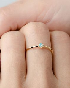 Lab Opal Ring- Birtstone Ring- Petite Stacking Ring- Minimlaist Jewelry- Bridesmaid Gift- Opal Ring-Simple - Anello opale Lab Oro Vermeil argento Sterling anello giallo You are in the right place about cartier - Vintage Engagement Rings, Vintage Rings, Diamond Engagement Rings, Vintage Style, Diamond Wedding Bands, Wedding Rings, Wedding Gold, Jewelry Rings, Silver Jewelry
