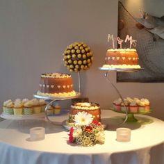 Cake table wedding   www.jackscromane.com Table Wedding, Our Wedding, Cake Table, Table Decorations, Weddings, Food, Home Decor, Mariage, Wedding