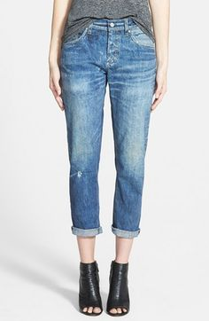 Now 33% off! AG+'The+Ex+Boyfriend'+Crop+Jeans+(Watson)+available+at+#Nordstrom
