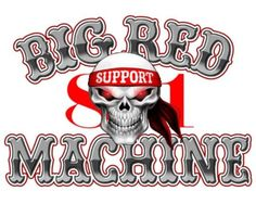 Support 81 Worldwide - HAMC - Hells Angels never Die - support big red machine germany
