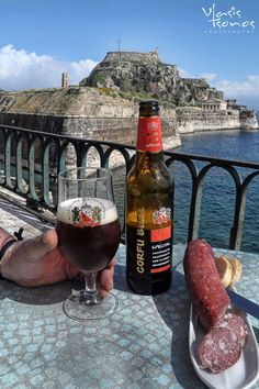 This one for Lads!! Corfu beer!