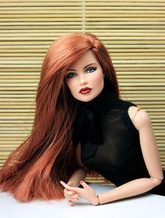 "OOAK Integrity Fashion Royalty Repaint Vanessa II ""Ruby"" by Veronica"
