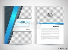 Vector: Abstract vector modern flyers brochure / annual report /design templates…