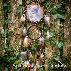 Add some Native American vibes to your room with these cute handmade Dreamcatchers. Legend has it that the Dreamcatcher web filters out all the bad dreams, allowing only good thoughts to enter your mind Follow us on : www.facebook.com/spiritualgiftsireland  www.instagram.com/spiritualgiftsireland  www.etsy.com/shop/spiritualgiftireland