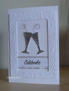 Simple wedding card idea
