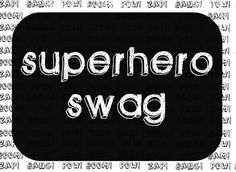 Tattered and Inked: Superhero Invites & Swag Bags