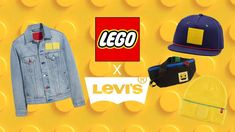 Lego x Levi's collab is truly bizarre | Creative Bloq Classic Lego, Ikea Storage, Lego Design, Create Image, Lego Pieces, Fashion Face, Basic Colors, Everyday Outfits, Black Sweaters