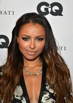"""The Vampire Diaries"" actress Kat Graham sparkles in her Somervell Necklace."