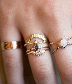 Sapphire Sotto Voce Ring