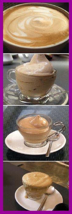 Una taza de café soluble, taza y media de azúcar y taza y media de agua. Y a batir, como si fuera nada montada. Cooking Time, Cooking Recipes, Café Chocolate, Mocca, Cake Shop, Frappe, Coffee Cafe, Dessert Recipes, Puddings